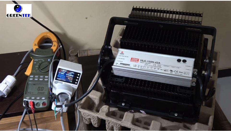 Power Harmonic Review  Vinder Led Industrial Floodlight 150W