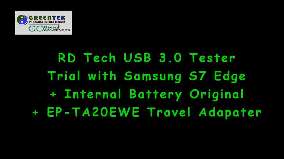 RD Tech USB 3 Tester