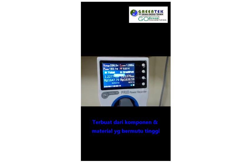 Zhurui-Tec PR 10C Power Recording