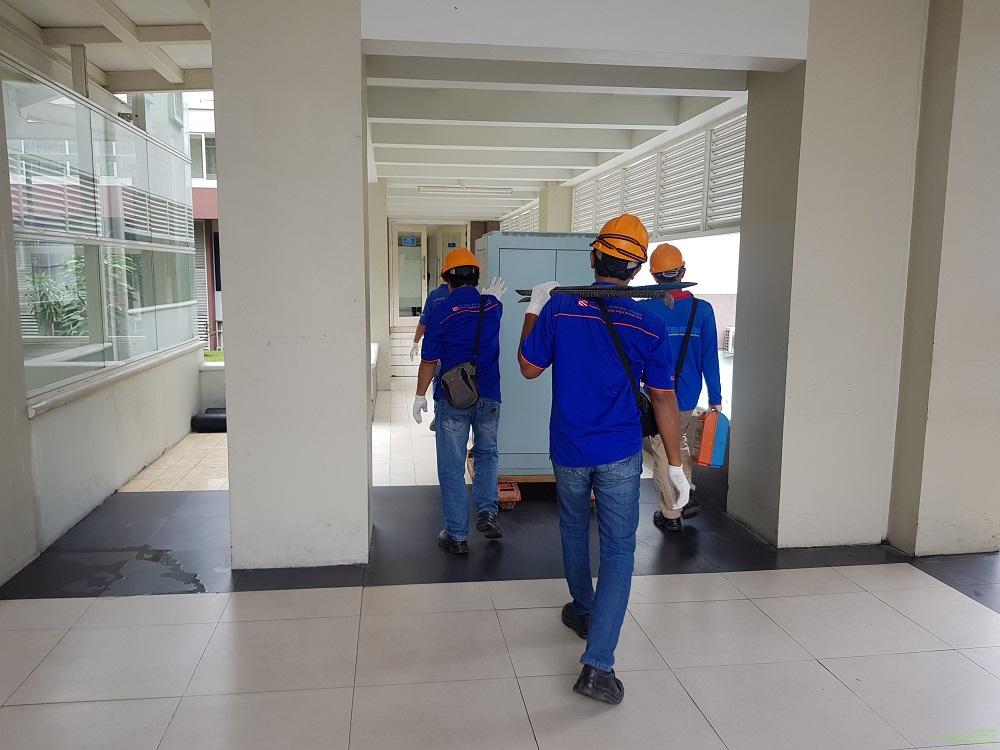 Pengiriman Panel Jogja International Hospital (JIL)